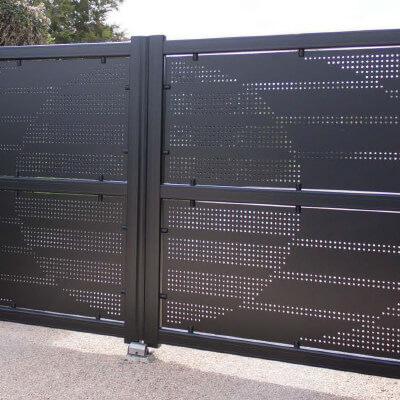 Portail de clôture ALU